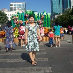 Chị 50 tuổi ở Thành Phố Hồ Chi Minh Bị sãn não đã nhiều năm đã đi chữa thuốc tây nhiều năm không khỏi chị đến dùng thuốc đông y nay đã khỏi nay chị là cán bộ tại đài khí tượng thuỷ văn Nam Bộ_1
